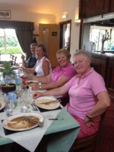 Lady Captains away day 3